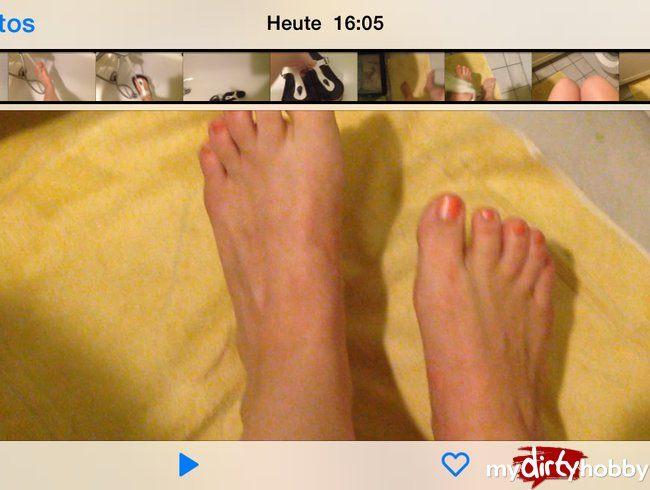 Abkühlung für Füße und birkenstock gleich mal pflegen ;)