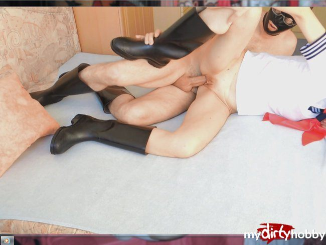 gummistiefel sex tube