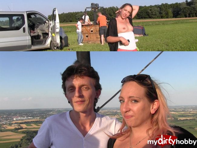 WELTPREMIERE Heissluftballon gefickt!!