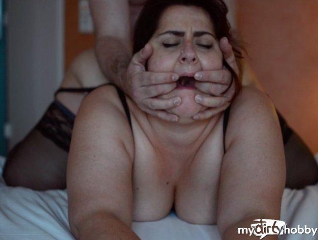 Verheiratete Milf im Hotel gefickt