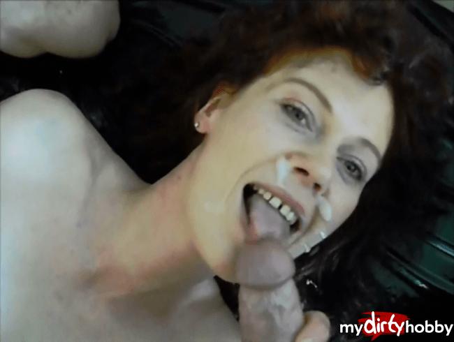 Sperma ins Gesicht - 20 x MIX