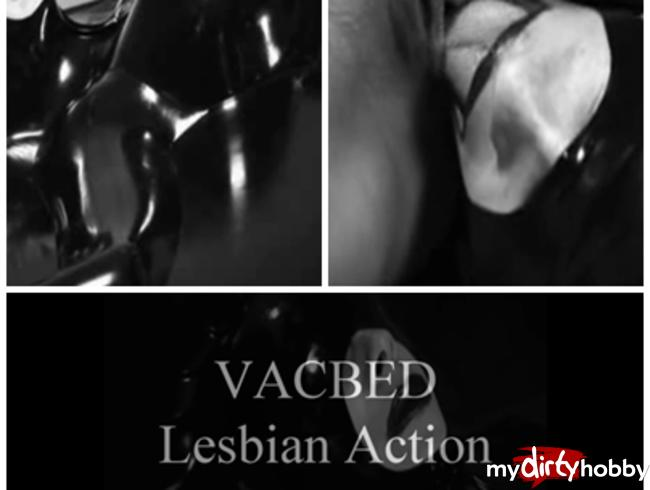 VAC-Rubber-Bed Lesbian Action