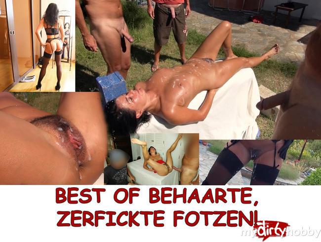 Best of behaarte zerfickte Fotzen
